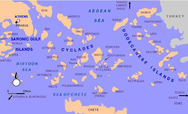 Greek Islands Information ~ AFP CV
